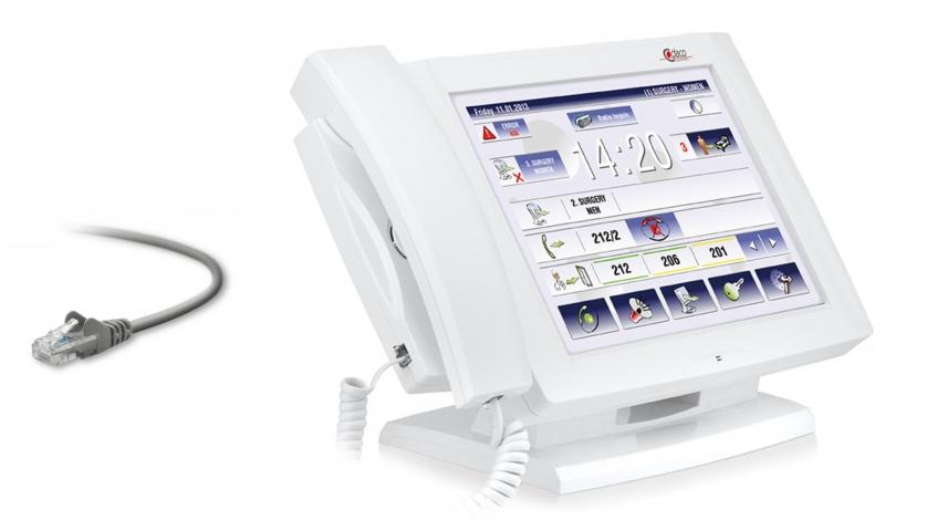 Call communication system - full IP HCC-07 IP, Medicine, Nurse Call ...
