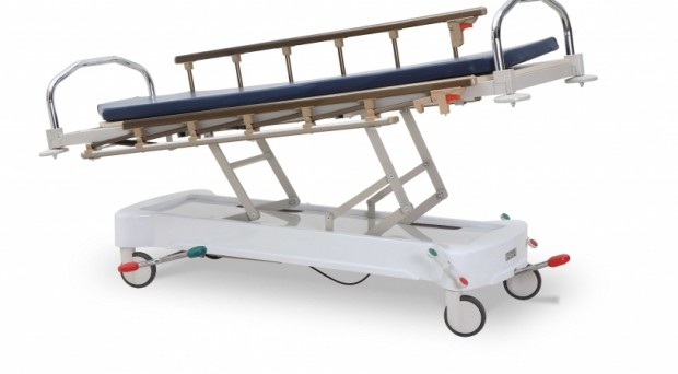 Medicine, Emergency Trolleys, HYDRAULIC STRETCHER