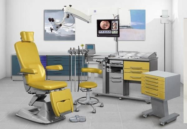 Medicine, ENT Units and Chairs, Otocompact Professional